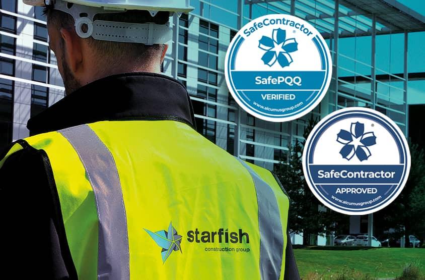 Starfish Construction Gold SafePQQ Verification